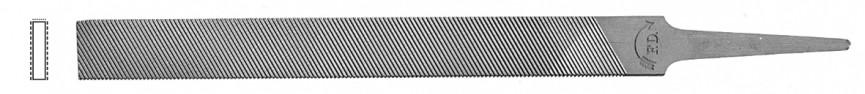 Aluminium file, hand