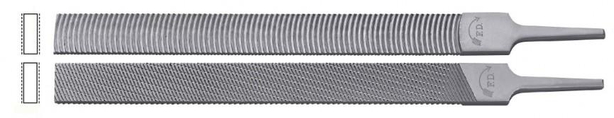 Lime per installatori, I due diversi lati (1 radiale / 1 obliquo) di questa lima per installatori consentono diversi impiegh individualizzati ed una buona espulsione del truciolo.i