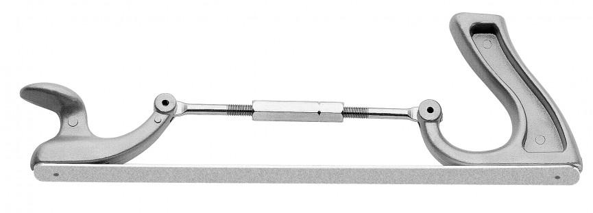 Supporto regolabile per piastre abrasive 1405 e 1414 lunghezza 350mm