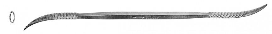 Riffelraspel G294