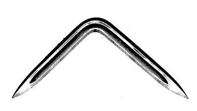 Dreikant-Hohlschaber (Ersatz) Nr. 533Eg