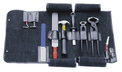 ASCOT Tool set in artificial leather bag