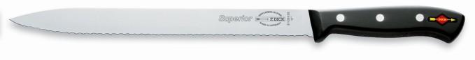Slicer, serrated edge