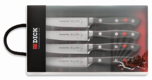 Steak Knife Set, Premier Plus, 4 pieces
