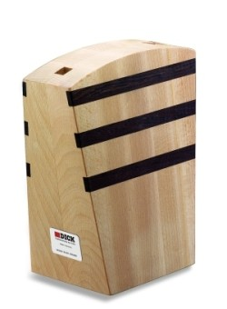 Designer Magnetic Knife Block, empty